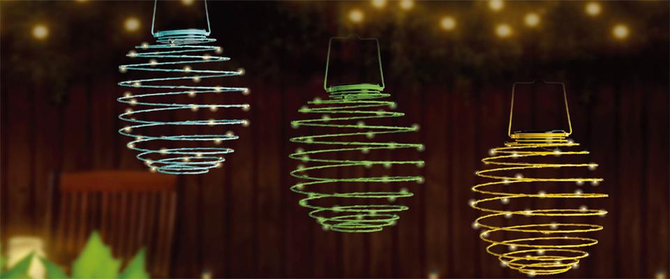 Spiral Solar Lantern