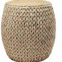 Basket Weave Cement Pedestal